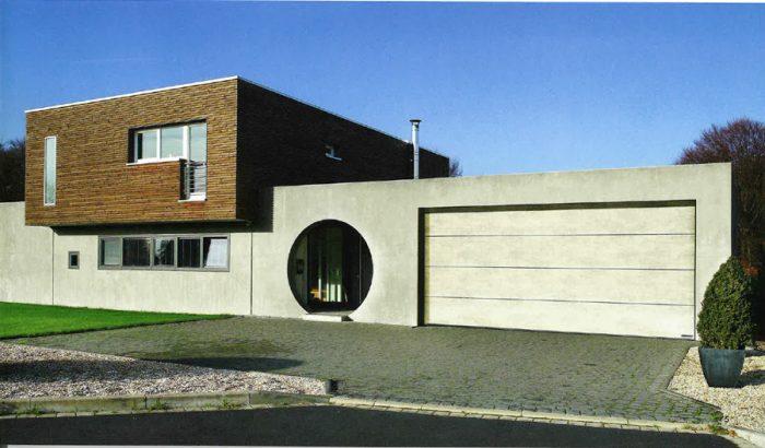 Porte de garage Hormann Duragrain en béton