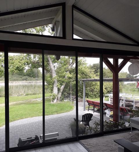 Porte fenêtre et fenêtre en aluminium